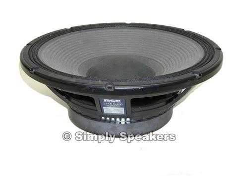 Speaker Pasif 15 Inch Ss 400 P Original 1pasang Rcf Lf15 G400 15 Quot Subwoofer