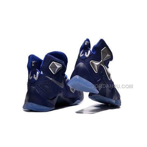 cheap basketball shoes size 13 cheap nike lebron 13 blue metallic silver basketball
