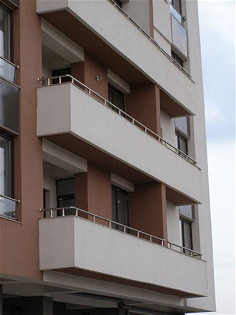 ringhiera per terrazzo parapetto balcone in acciaio inox lightline