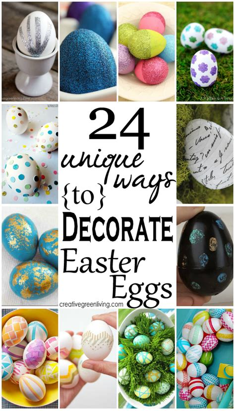 24 unique ways to decorate easter eggs creative green living