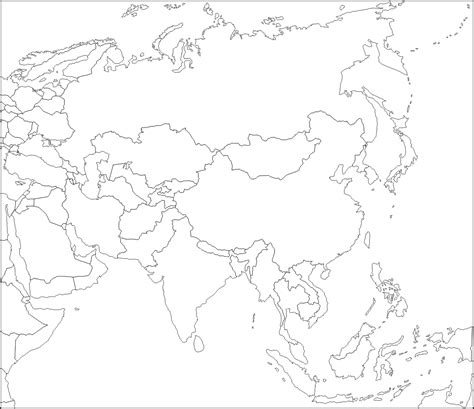 blank map of asia blank map of asia by zalezsky on deviantart