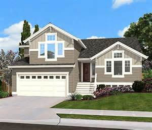 split level house designs split level home plan for narrow lot 23444jd 1st floor