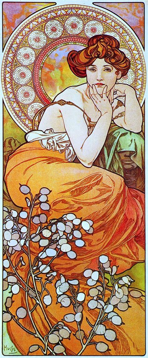 Poster Mural 4952 by Les 143 Meilleures Images 224 Propos De Mucha Alphonse Sur