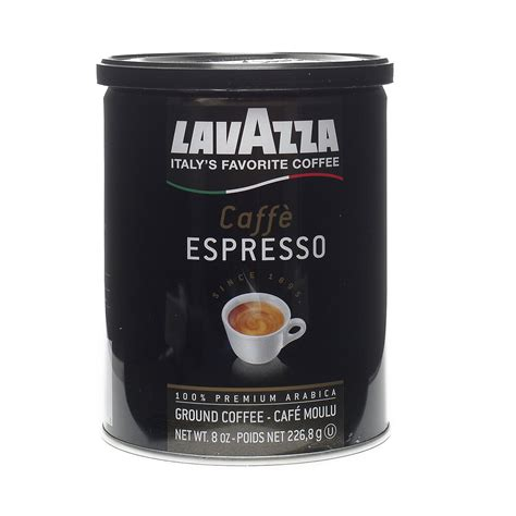 espresso ground coffee 8 oz caff 232 espresso ground coffee by lavazza thrive market