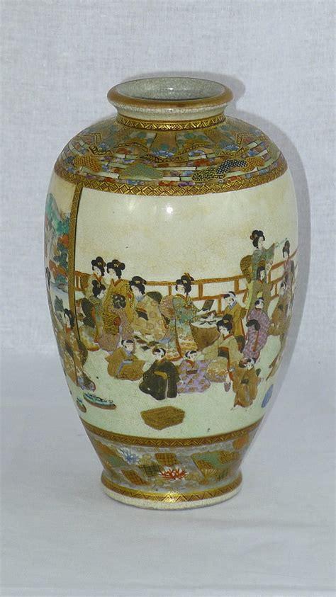 Satsuma Vase Signatures by Antiques Atlas 19th C Signed Japanese Satsuma Vase
