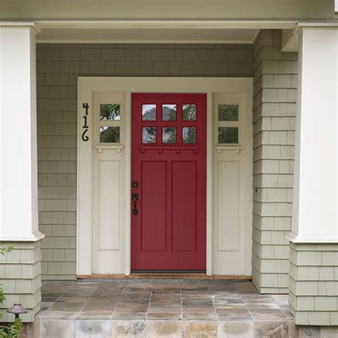 paint colors exterior for red door best 25 craftsman style front doors ideas on pinterest