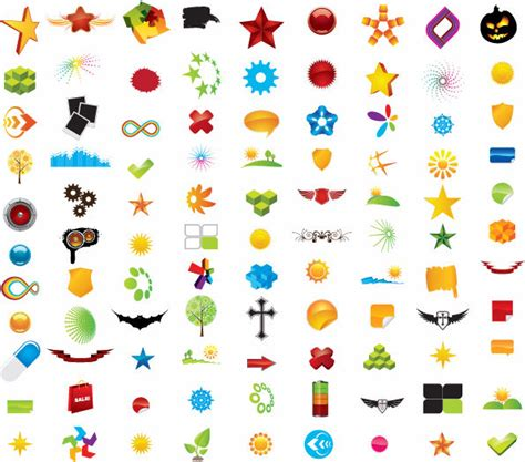 free logo design elements vector 100 vector logo design elements free vector 4vector