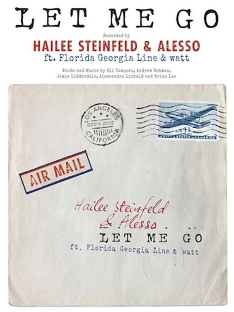 download mp3 let me go hailee sheet music universe let me go
