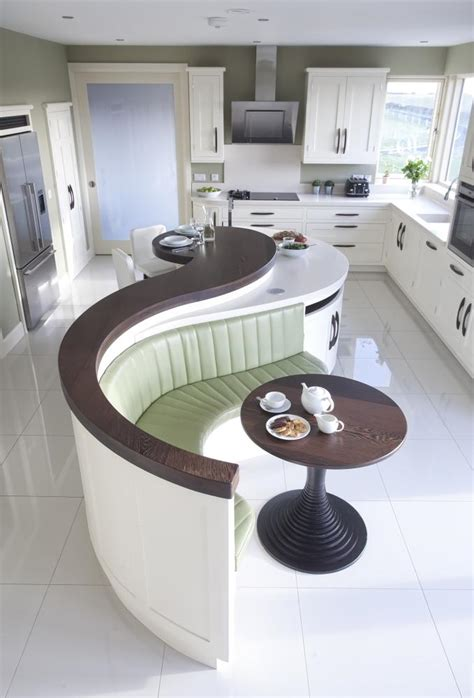 Curved Kitchen Island Curved Island Kitchen Designs Brucall