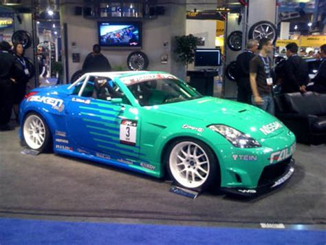 calvin wan s falken infiniti sema 2007 new drift cars breaking drift news