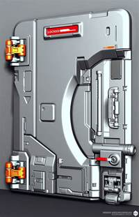 Sci Fi Door by Polycount Forum Sci Fi Door By Ae Sci Fi Stuff