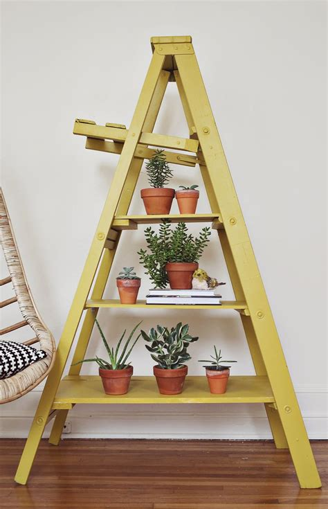 Color For A Small Bathroom - nesting ladder display makeover a beautiful mess
