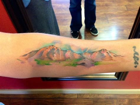 justin nordine tattoos colorado mountains www