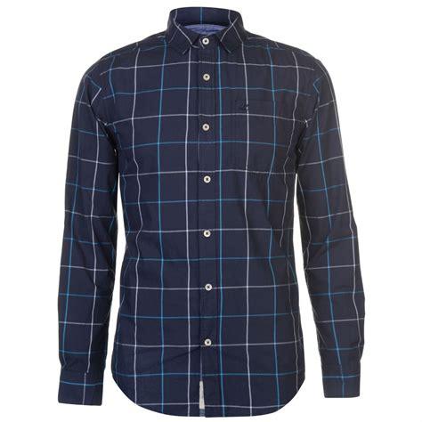 Sleeve Check Shirt soulcal sleeve check shirt mens