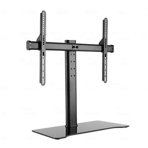 32 Tv Desk Mount by Titan Av 32 55 Quot Lcd Led Tv Tabletop Desktop Mounting