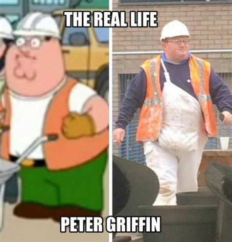 Real Life Meme - pin peter griffin real life yearbook on pinterest
