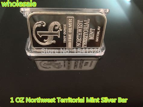 1 Oz Silver Bars Cheap by Cheap Wholesale 100pcs Northwest Territorial Mint Silver