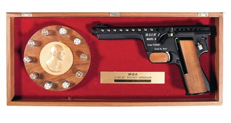 A C Unit Model Mba 666 Nh5rx by Mba I Model B Gyrojet Pistol With Display