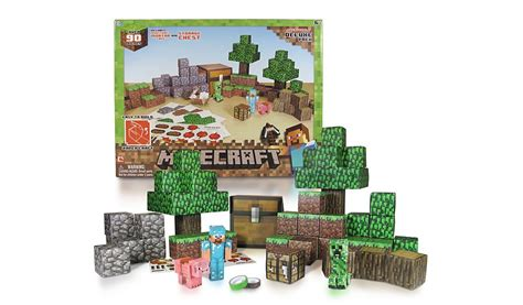 Minecraft Papercraft Deluxe Pack - minecraft papercraft overworld deluxe pack