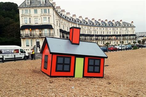 house design games english cartoony tiny homes pop up all over english port town curbed