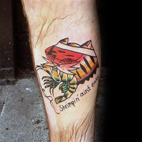 shrimp tattoo 40 shrimp designs for oceanic ink ideas