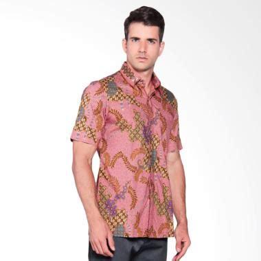 Kemeja Slimfit Murah Batik Hitam Flower Terbar Cowo Kantor Best Seller jual kemeja terbaru harga murah blibli
