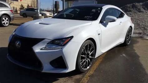 lexus rcf sedan ultra white 2015 lexus rc f 2dr cpe performance