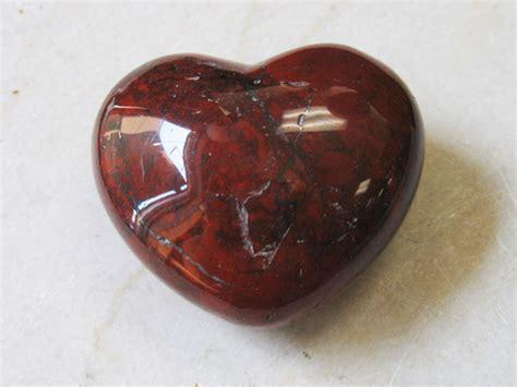 Heart Home Decor by Poppy Brecciated Jasper Heart