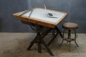 Home office on pinterest reclaimed wood desk drafting tables and