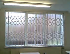 window security folding concertina security grilles for home business