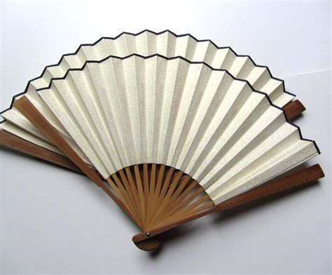 gift for book fan 2017 vintage blank white folding fans rice
