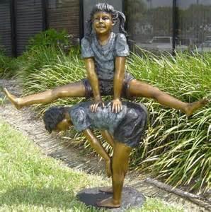 Art Pedestals For Sale Children Playing Bronze Statues Bronze Children