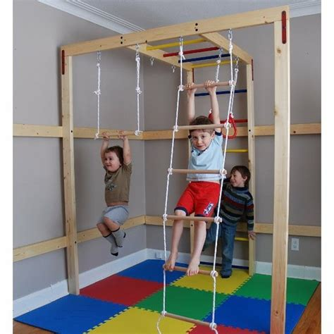 Diy Indoor Jungle Gym