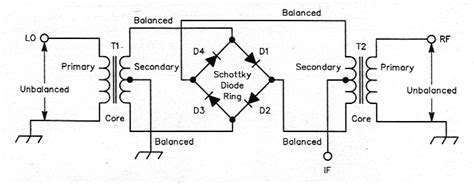 balanced diode mixer schematic taking the mystery out of diode balanced mixers