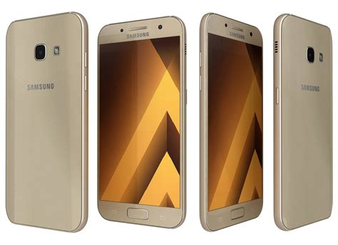 Samsung A3 New Gold samsung galaxy a3 2017 gold single sim 16gb 4 7 lte ip68 certified pc link computers