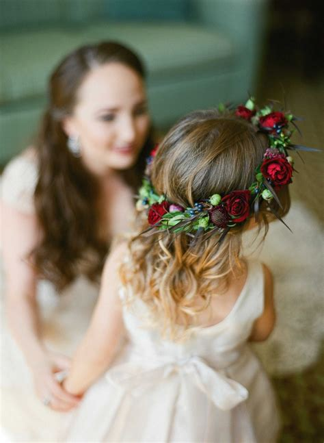 Wedding Hair Flower Ring by Flower Ring Bearers Photos Colorful Floral Crown