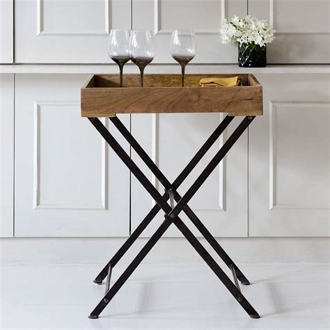tray table wooden tray table by within home notonthehighstreet com
