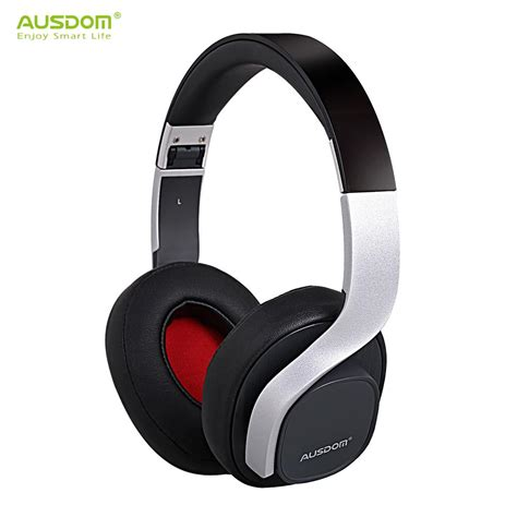 Headphone Fashion Bass ausdom m08 fashion bluetooth headset wireless 4 0 stereo powerful bass handband