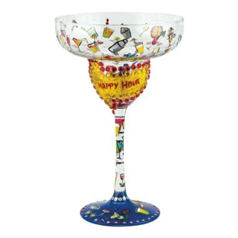 birthday margarita glass 20 best images about painted margarita glasses on