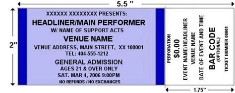 printable custom tickets free orange standard horizontal tickets by freshtix ticket