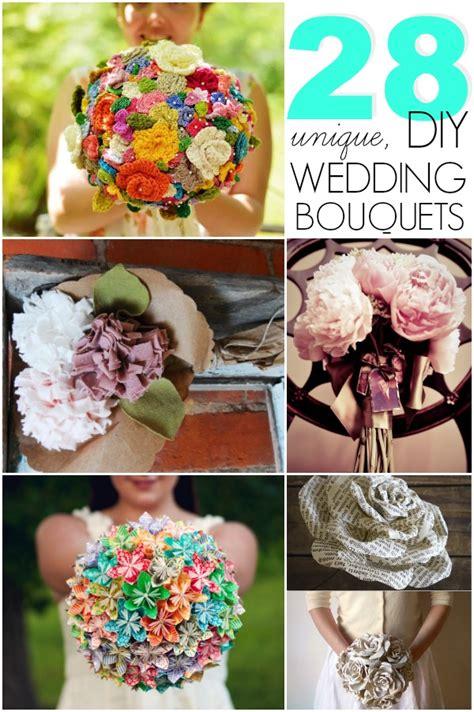Handmade Wedding Bouquet Ideas - diy wedding bouquets c r a f t