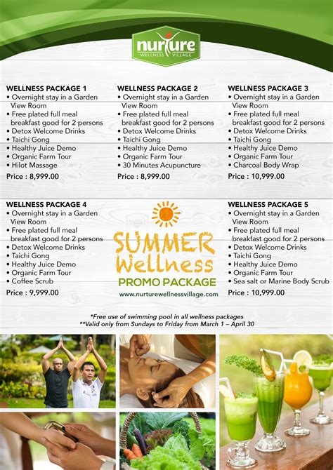 Detox Packages Philippines by Summer Wellness Promo Nurture Wellness