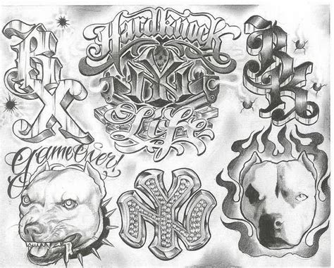 chicano tattoo designs pin chicano flash gangsta tattoos prison mexican