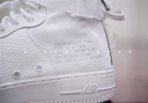 Nike Sf Af 1 Mid White nike sf af1 mid white preview sneakernews