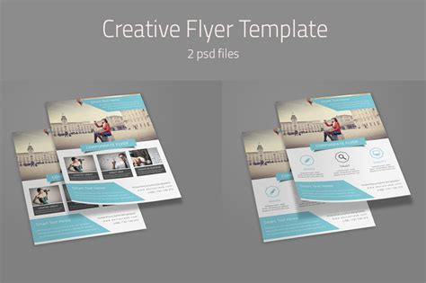 creative flyer templates flyer templates on creative market