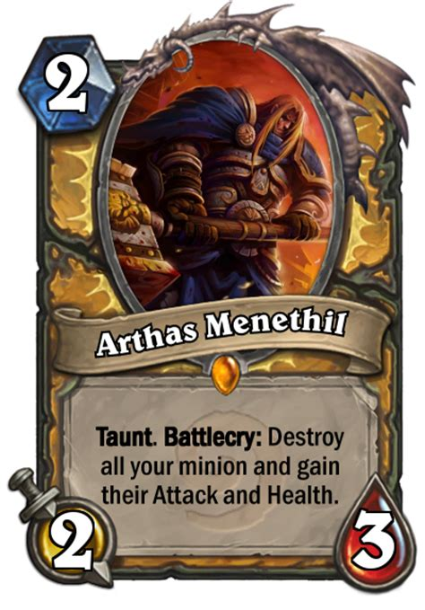 Muster Hearthstone 112 Class Legendaries 17 Neutral Legendaries Feedback Suggestions Would Be Appreciated