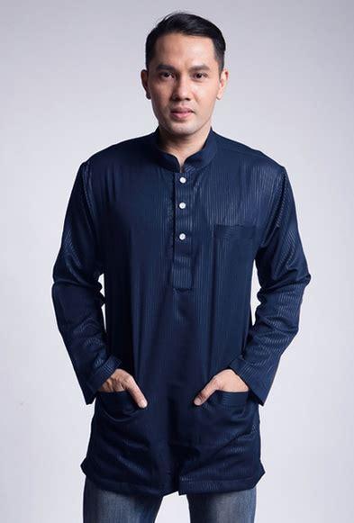 Baju Muslim Polos til elegan dengan model baju lebaran 2018 untuk pria