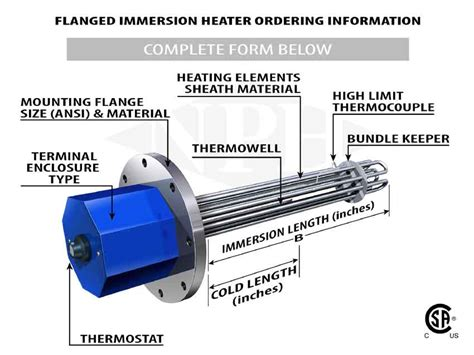 car wiring flanged immersion heaters 3 heater wiring