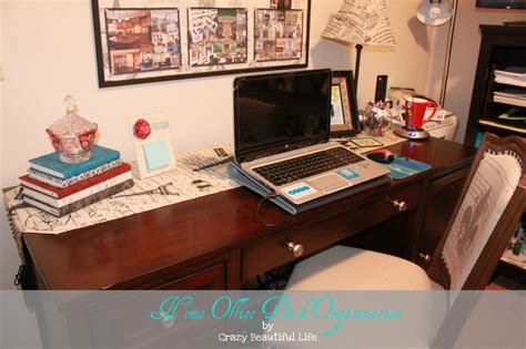 home office desk organization glitter glue and paint beautiful organizing 2