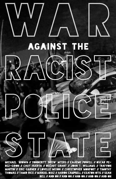 the war against the war against the police state ferguson and further